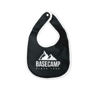 BASE-CAMPのBASE MOUNTAIN 03 WHITE Baby bibs