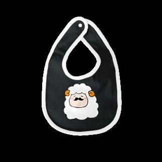 リカ蔵~rikagura~のヒゲ羊 Baby bibs