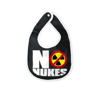 NO_NUKES Baby bibs