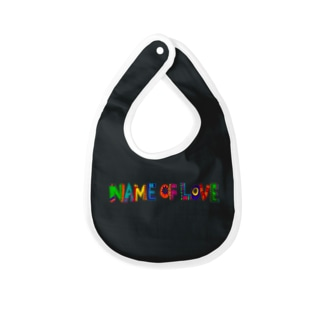 name of love Baby bibs