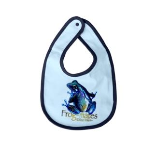 カエルメイト(Frog-mates)より「アマノカワズ」 Baby bibs