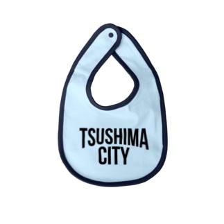 TSUSHIMA CITY Baby bibs