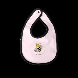 aaのwizard bee Baby bibs