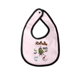 ROBOBO 「パキラロボ」 Baby bibs