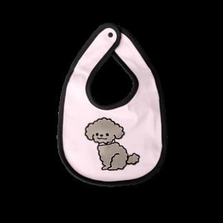 松永なつみのトイプードルKUSHU*KUSHU Baby bibs