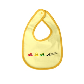 withスリスリくん Baby bibs