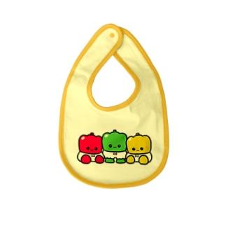 ミーパンとパプミーパン Baby bibs
