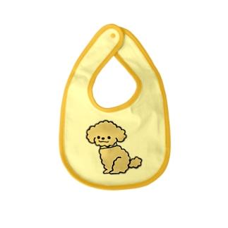 トイプードルKUSHU*KUSHU Baby bibs