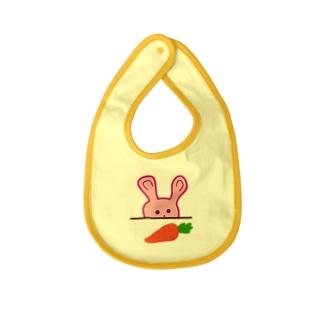 Hungry Rabbit Baby bibs