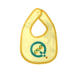 KagaQ公式Logo Baby bibs
