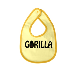 GORILLA(英字+1シリーズ) Baby Bib