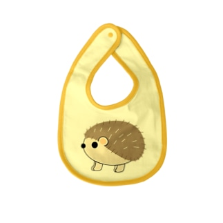 丸っとしたハリネズミ Baby Bib