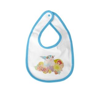 フクロモモンガVer.8 Baby bibs