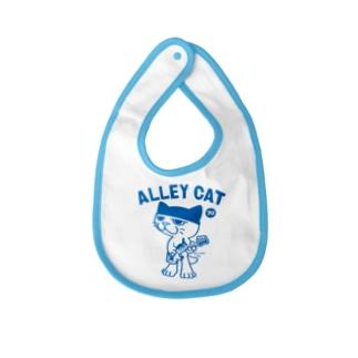 ALLEY CAT 〜ドラ猫モータース ベース/ショベル〜 Baby bibs