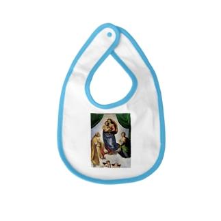 ラファエロ・サンツィオ『 サン・シストの聖母 』 Baby bibs