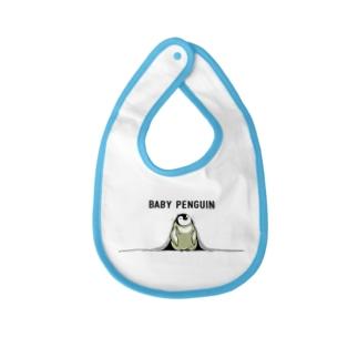 赤ちゃんペンギン Baby bibs