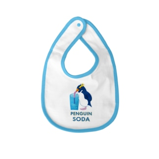 Slow TypingのPENGUIN SODA ペンギンソーダ 191 Baby bibs