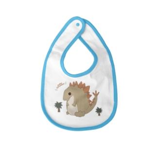 ステゴサウルス (恐竜) Baby bibs
