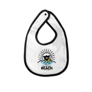 octon Slow life Island BEACH #basic Baby bibs