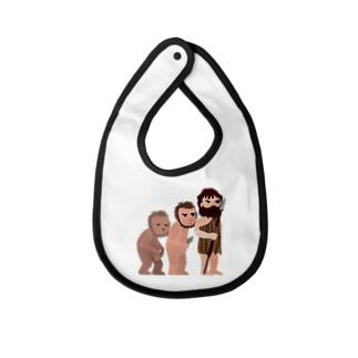進化論 Baby bibs