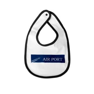 AIRPORT Baby bibs