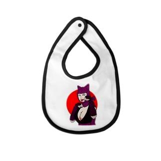 怪盗紫頭巾 Baby bibs