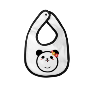 Panda Lele&Hehe Baby bibs