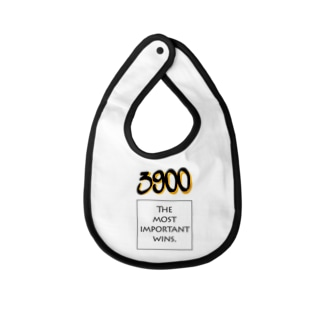 POINTS - 3900 Yellow Baby bibs