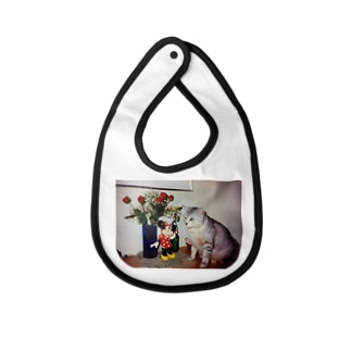Mundy Moon the Cat Baby bibs