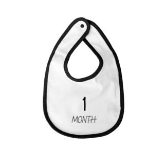 1MONTH  Baby bibs