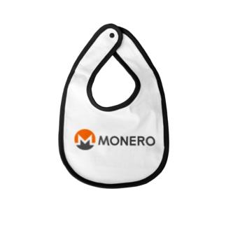 Monero モネロ Baby bibs
