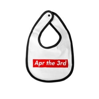 Apr the 3rd(4月3日) Baby bibs