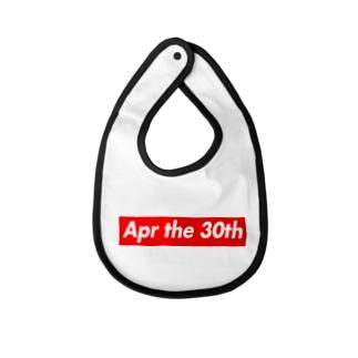 Apr the 30th(4月30日) Baby bibs