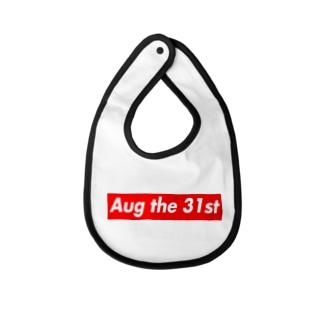 Aug the 31st(8月31日) Baby bibs
