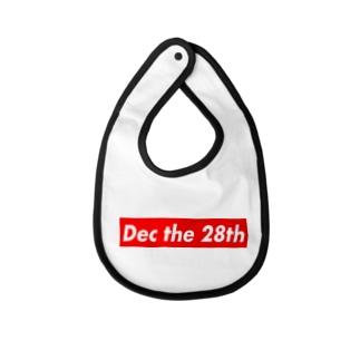 Dec the 28th(12月28日) Baby Bib