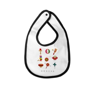 OMOCHA〜Japanese traditional toy〜 Baby bibs