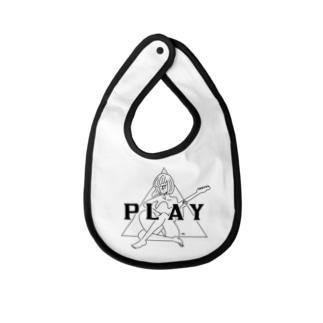 PLAY GIRL(期間限定販売)白ボディ推奨 Baby bibs