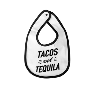TACOS and TEQUILA Baby bibs