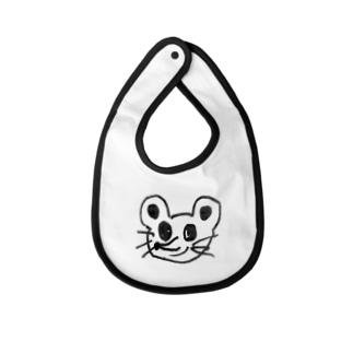 ネズミみたいなやつ Baby bibs