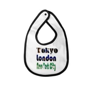 Tokyo×London×New York Baby bibs