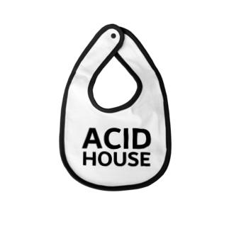 ACID HOUSE Baby bibs