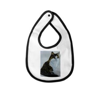 猫のデザイン 油絵 ベイビービブ