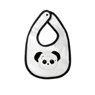 パンダ Baby bibs