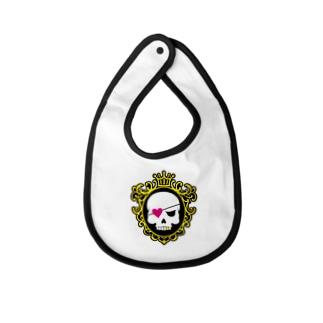 skull Baby bibs