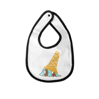 Ice Slime Chocolate Mint Flavor Baby bibs