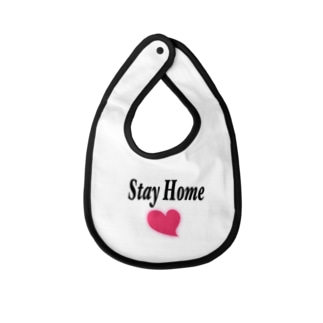 Stay Home Baby bibs