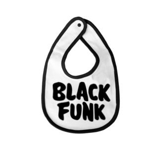 Black Funk Baby bibs
