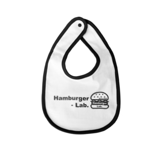 Hambuger Lab. Logo 2 Baby bibs