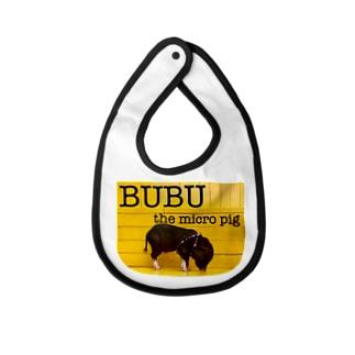 BUBU yellow Baby bibs