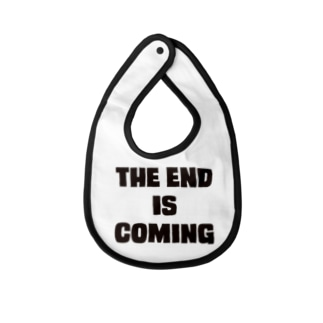 THE END IS COMING Baby bibs